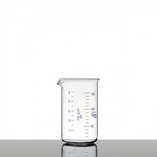 Mini-Messbecher aus Glas ohne Henkel