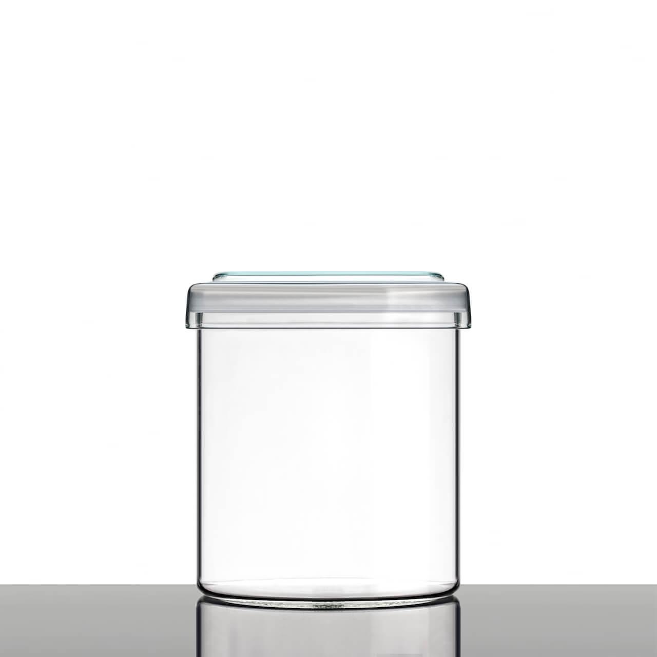 aufbewahrungsglas mit glasdeckel glasklar berlin. Black Bedroom Furniture Sets. Home Design Ideas