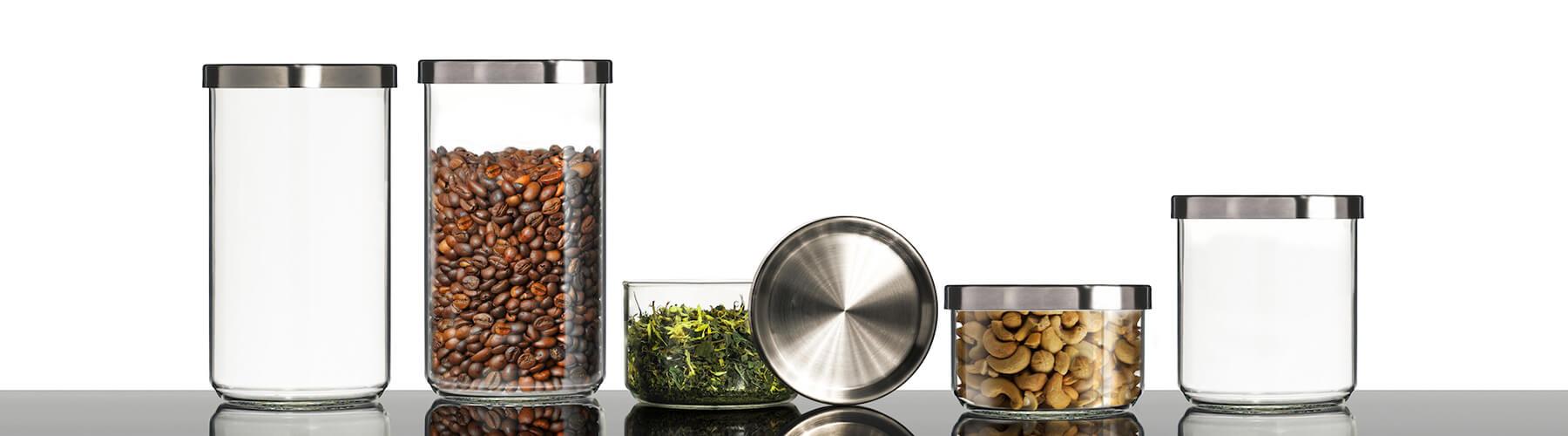 Gläser Aufbewahrungsboxen aufbewahrungsboxen aus glas glasdosen und weckgläser glasklar berlin