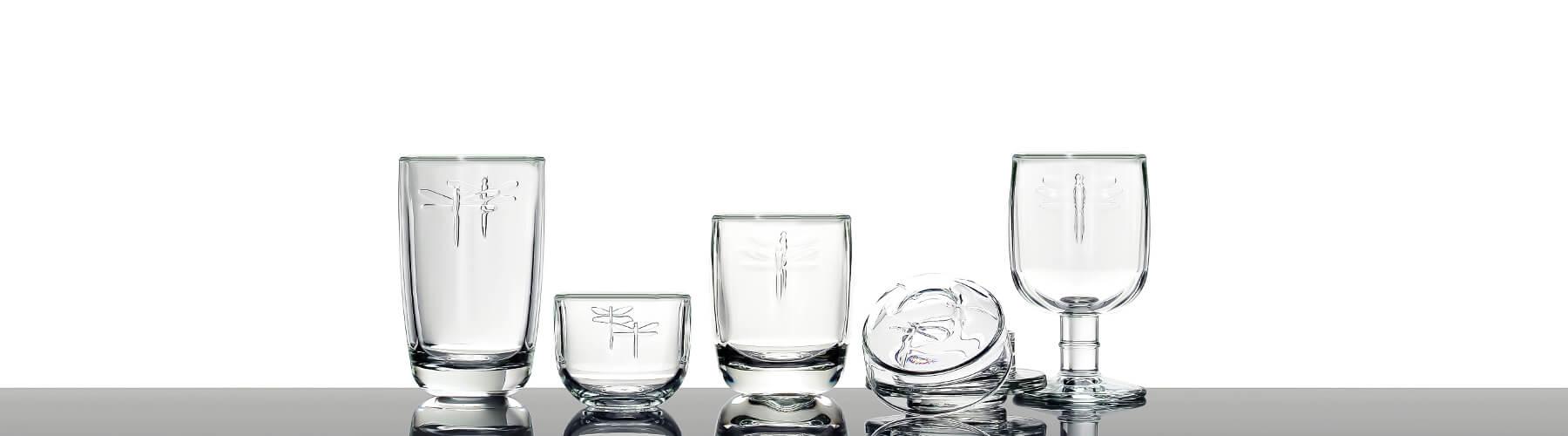 Libelle Trinkglaser Von La Rochere Glasklar Berlin